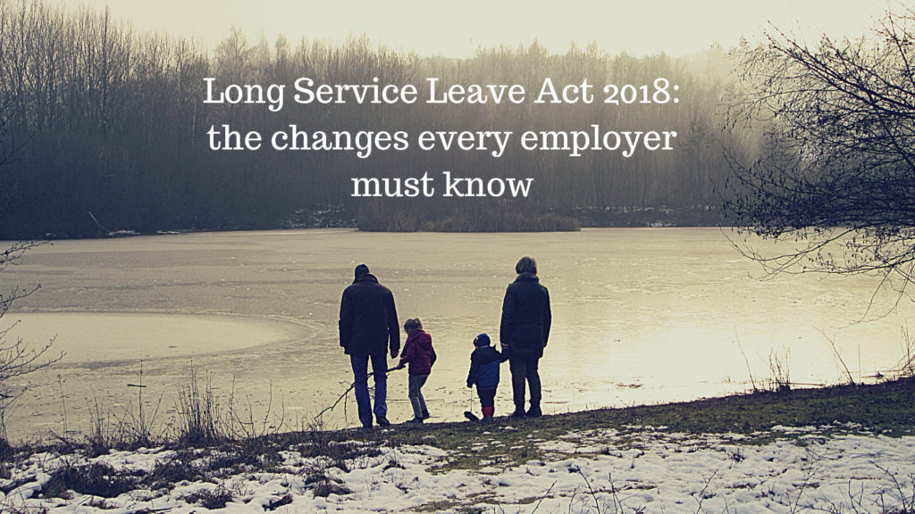 Long Service Leave Act 2018